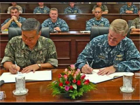 EFM Busan Radio Station visits USS Blue Ridge (LCC 19)