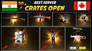 50+ Crates Opening In PUBG Mobile | PUBG MEGA CRATE OPENING | BEST VPN FOR CRATES OPENING