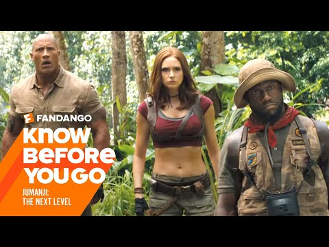 Know Before You Go: Jumanji: The Next Level | Movieclips Trailers