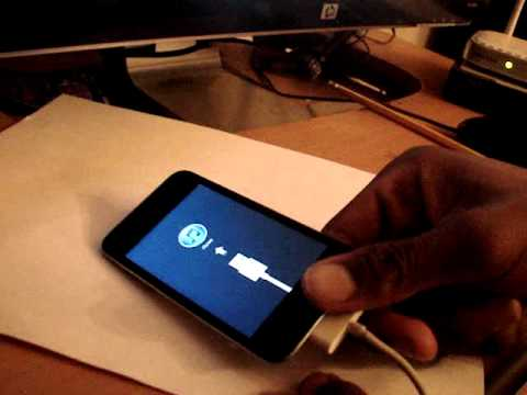 how to fix the ipod touch connect to itunes mode youtube