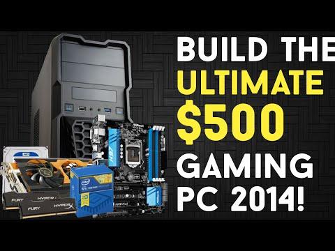 BUILD THE ULTIMATE $500 GAMING PC(G3258/i3, R9 280X/285) November 2014!