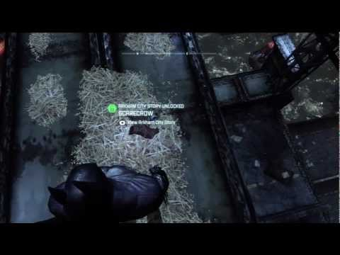 Batman Arkham Asylum Scarecrow Scarecrow Mask Arkham City