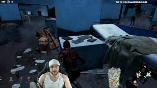 Dead by Daylight WITH...SURVIVOR! vs LEATHERFACE! - IM DONE FOR!