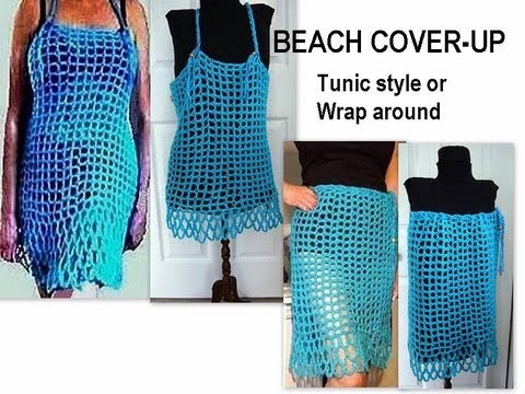 Free CROCHET Pattern BEACH COVER-UP