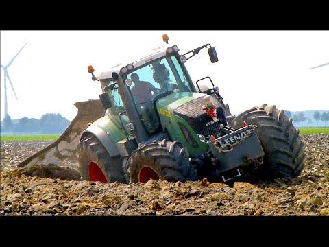Deep ploughing | Fendt 936 vario | Van Werven diepploegen / Deep plowing