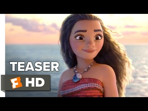 Moana Official Teaser Trailer #1 (2016) - Dwayne Johnson Animated Disney Movie HD