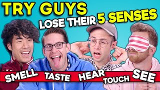 The Try Guys Play A New Game Without Their Senses | SENSELESS