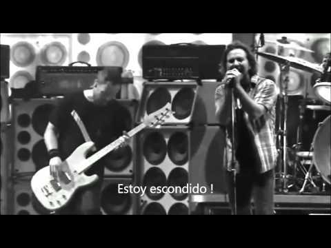 Pearl jam -  In hiding -  Subtitulado al español -  Argentina 2013 HD