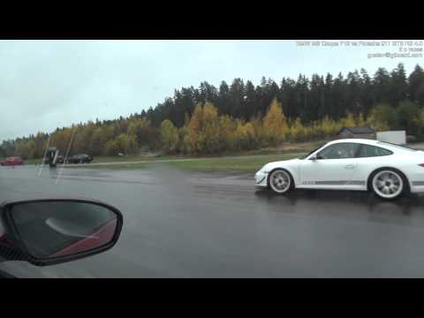 BMW M6 F12 vs Porsche 911 GT3 RS 4.0 (997)