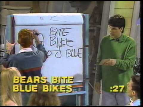 Teen Win Lose or Draw - July 1989 with Wil Wheaton and Josie Davis.