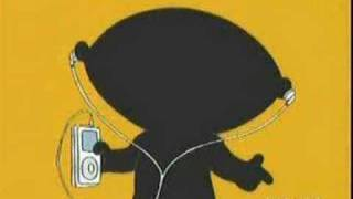 Stewie's New Ipod Commercial