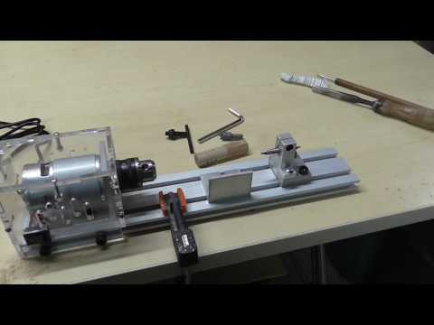 [review] DC 24V Mini Lathe Beads Machine Woodwork DIY Lathe