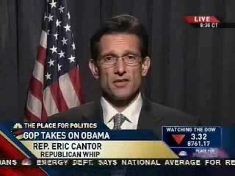Cantor On MSNBC