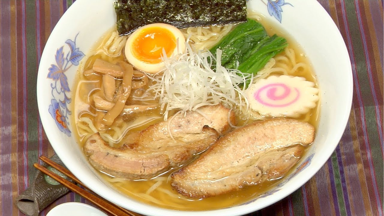 pork ramen cooking Ramen [Remastered/リマスター 焼き豚ラーメン Yakibuta