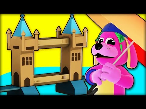 London Bridge Is Falling Down | Nursery Rhymes For Kids |