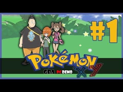 xy gba pc demo ep 01 nuevo viaje y link de descarga sgt pokemon xy gba