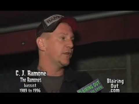 CJ RAMONE Talks to Eric Blair about the Ramones