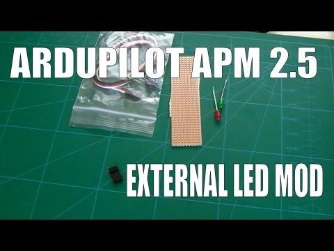 Arducopter / Ardupilot / APM 2 5 Simple External Led Mod