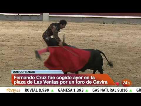 Impresionante cornada al torero Fernando Cruz