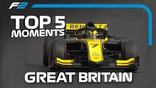 Top 5 Formula 2 Moments | 2019 British Grand Prix