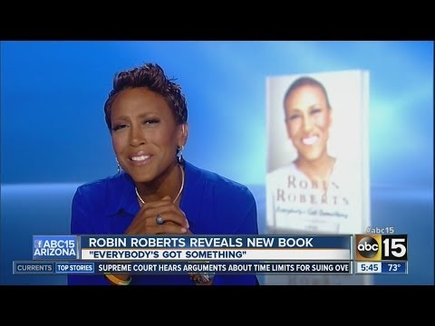 Robin Roberts talks with ABC15 Mornings
