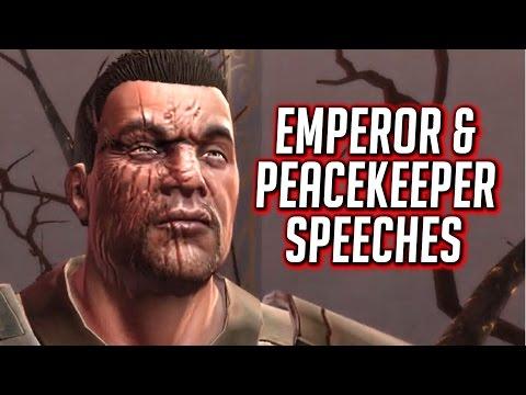 SWTOR KOTET ► Both Ending Speeches: Emperor & Peacekeeper (Dark & Light) - Chapter 9