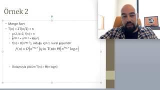 Master Theorem (Ana Teorem) (Algoritma Analizi 12)