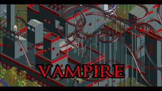 My OpenRCT2 Park - Challenger | VAMPIRE (launched twister coaster)