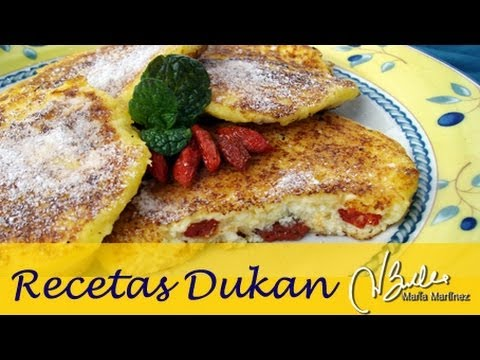 Tortitas Rusas de Requeson, Syrniki (Dukan Crucero) / Diet Russian Cheese Pancakes