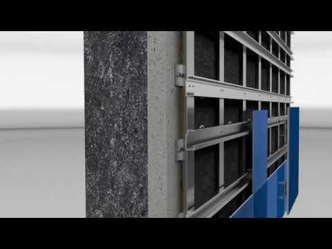 Mounting of KerAion® Quadro by AGROB BUCHTAL