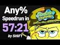 SpongeBob SquarePants: Battle for Bikini Bottom Any% Speedrun in 57:21 (WR on 2/17/2018)