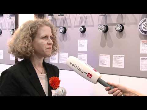 OSRAM Interview auf der Light+Building 2012 mit Stephanie Durand