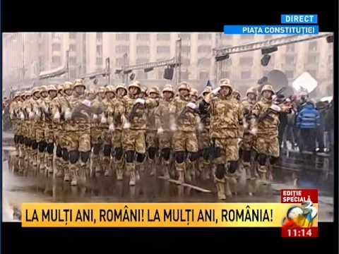 Ziua Nationala a Romaniei Parada Grandioasa de 1 Decembrie ### Defilarea fortelor terestre