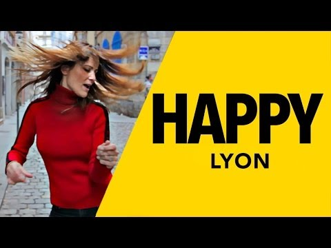 "Cover du clip de ""HAPPY"" de Pharrell Williams & We Are From L.A avec entre autres Alexandre Lacazette, Edwin Jackson, Pokemon Crew, Cécile Simeone... We Are From Lyon ! Suivez Récréation..."