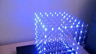 LED cube woopwoop effect