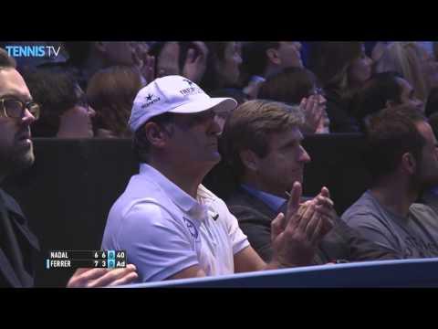 Ferrer Lobs Nadal In London