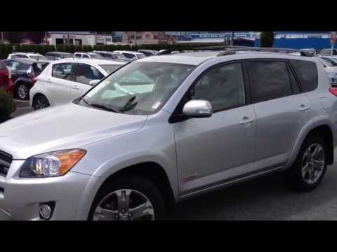 2011 Toyota RAV4 Sport V6 #14033A For Sale At Valley Toyota Scion In Chilliwack B.C.