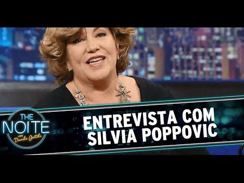 The Noite (20/10/14) - Entrevista com Silvia Poppovic