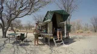 Setting up the Bushwakka Sundowner and Camping in Style