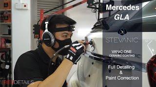 Mercedes GLA Full Detailing & Paint Correction