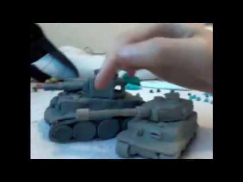 tanque de plastilina tiger 1