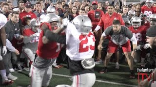 Ohio State Football: Circle Drill at 2017 Student Appreciation Day