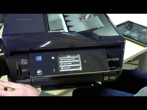 Epson XP-800 Expression Premium Photo All in One Wireless Printer Review