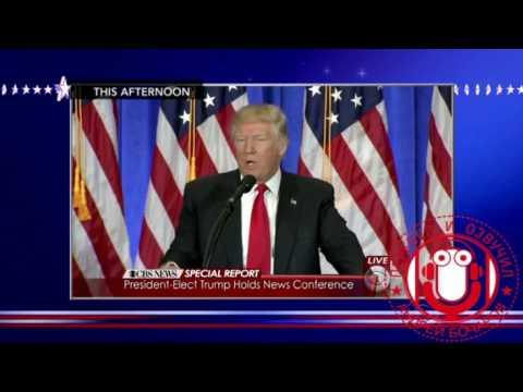 О прессконференции Трампа. Стивен Колбер поджаривает Трампа