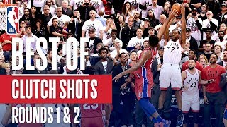 Best Clutch Buckets From Rounds 1 & 2 | 2019 NBA Playoffs