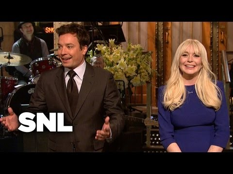 Lindsay Lohan Monologue: Stage Arrest - Saturday Night Live