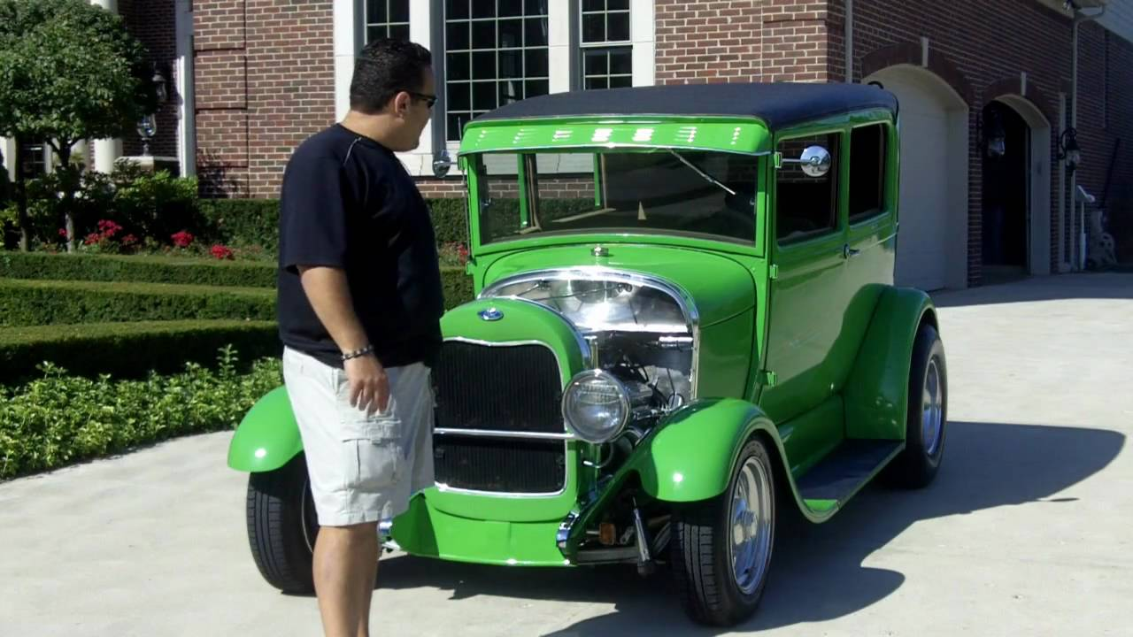 1929 Ford Model A Street Rod Classic Muscle Car For Sale