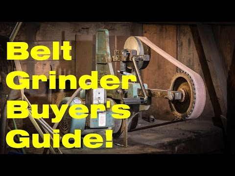 Belt Grinders - A Buyer's Guide for Knife Makers