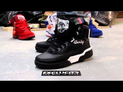 EWING 33 HI BLACK/WHITE