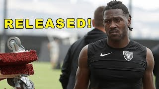 Antonio Brown RELEASED!